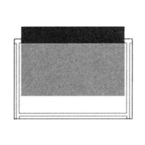 """Adhesive Back Poly Pocket - 7"""" x 4-3/4"""" - Clear - 100/Pack"""
