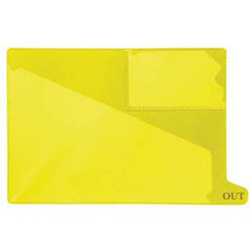 Bottom Tab Outguide - Yellow