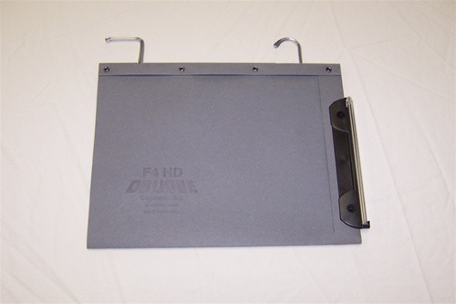 Oblique Legal Size Hanging Compartment, V-Base - X4 - Gray - Box of 25