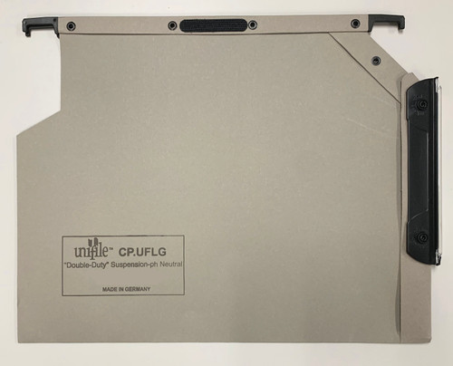 Unifile Legal Size Hanging Compartment - V-Base - Gray - Box of 25