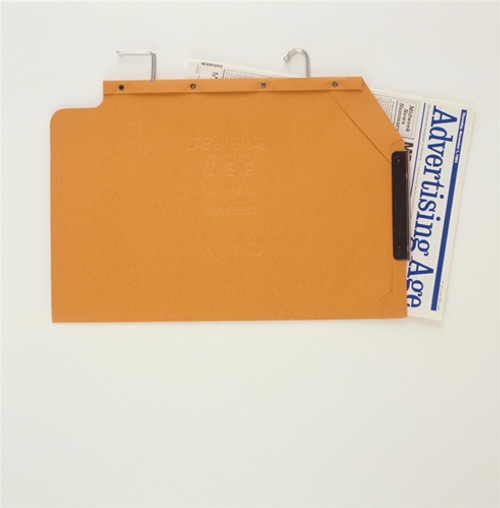 Oblique Legal Size Hanging Compartment - LC Long V-Base - Orange - Box of 25