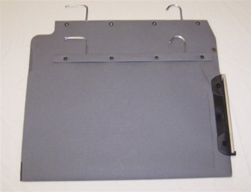 Oblique Legal Size Hanging Compartment - LC 80 mm Box-Base - Gray - Box of 25