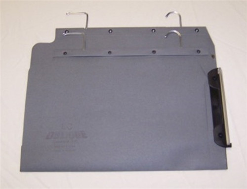 Oblique Legal Size Hanging Compartment - LC 50 mm Box-Base - Gray - Box of 25