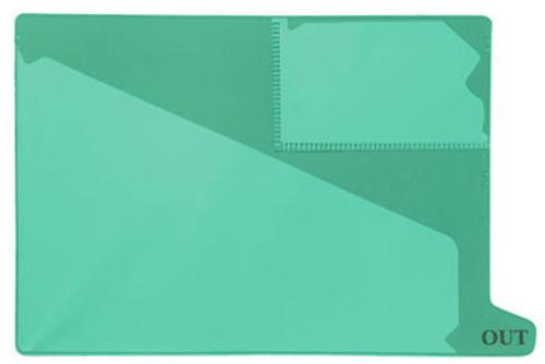 Bottom Tab Outguide - Green