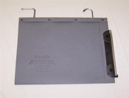Oblique Letter Size High Density Hanging Compartment - F4 V-Base - Gray - Box of 25