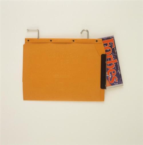Oblique Legal Size Hanging Compartment - LC V-Base - Orange - Box of 25