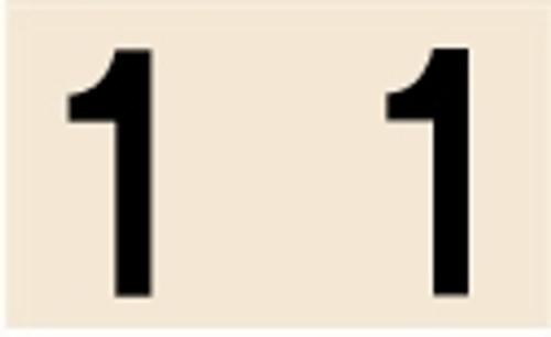 Manila Numeric Labels - MNNM Series - 1 - Manila