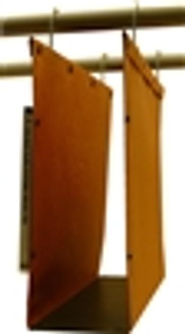 Oblique Letter Size High Density Hanging Compartment - F4 50 mm Box-Base - Orange - Box of 25