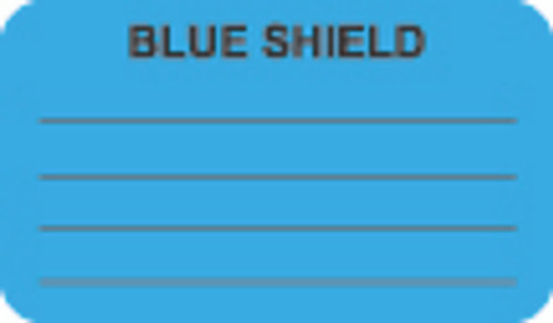 Blue Shield Label 1