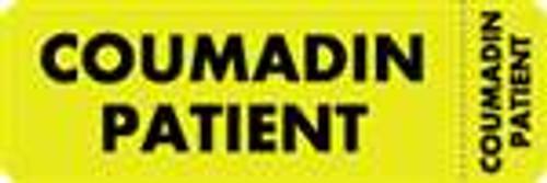 Coumadin Patient Label 2