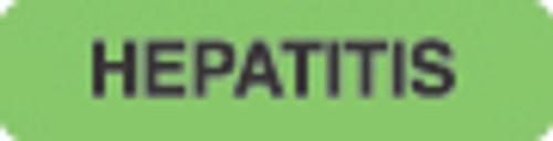 Hepatitis Label