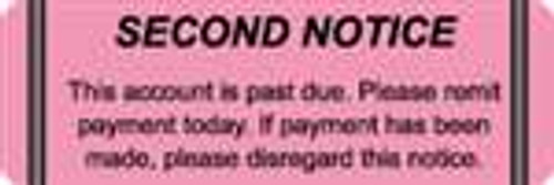 Second Notice Label 1