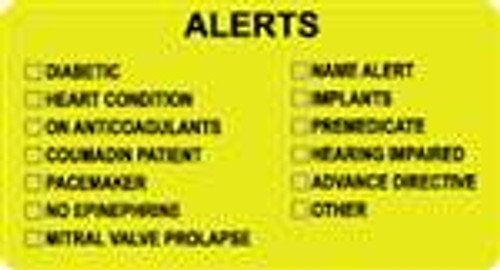 Alerts Label