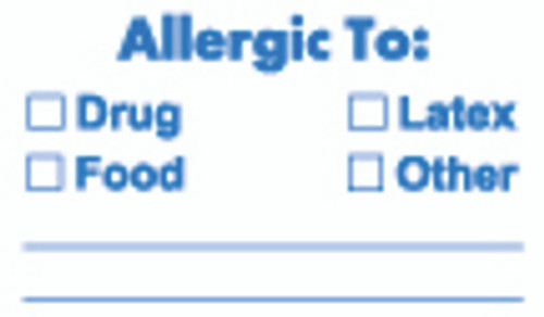 Allergic To: Label 10