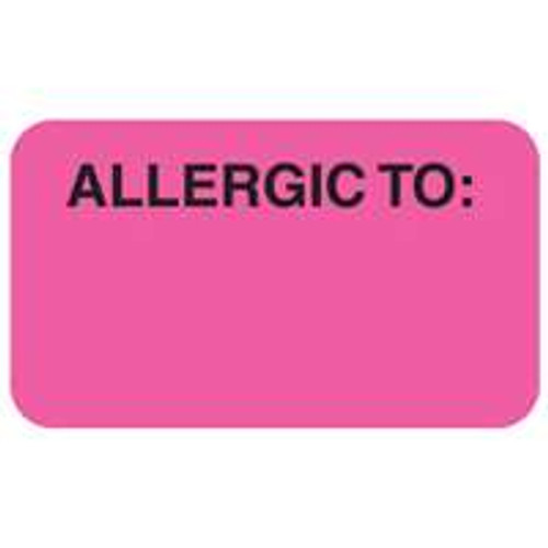Allergic To: Label 9