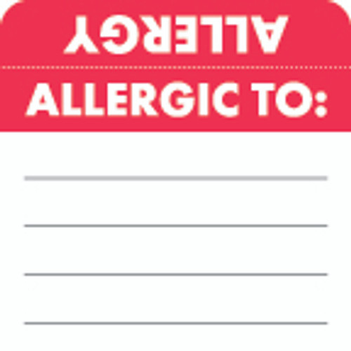 Allergic To: Label 8