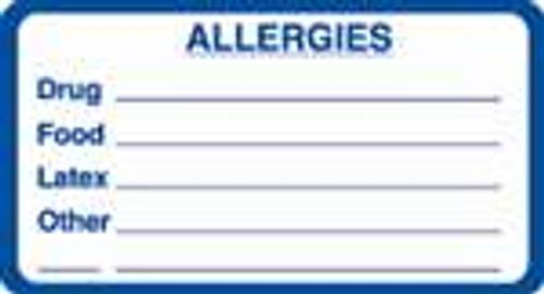 Allergies Label 5