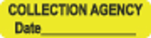 Collection Agency Label 1