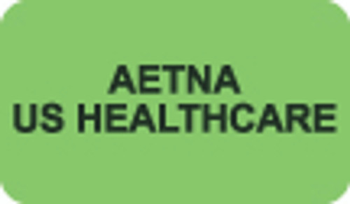 Aetna US Healthcare Label