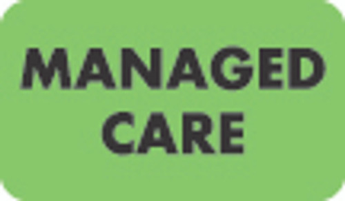 Managed Care Label 1