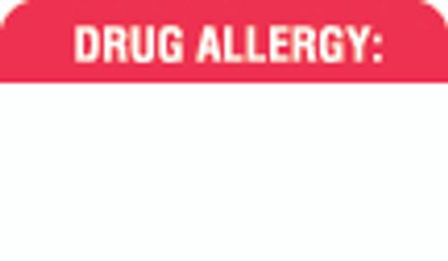 Drug Allergy Label