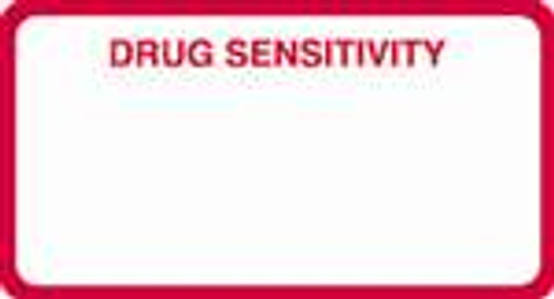 Drug Sensitivity Label