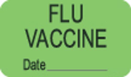 Flu Vaccine Label