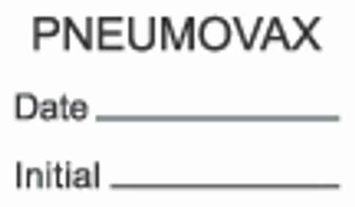 Pneumovax Label