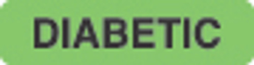 Diabetic Label 1