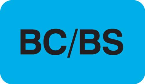 BC/BS Label 1