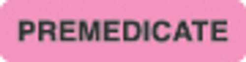Premedicate Label 3