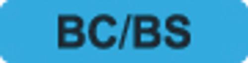 BC/BS Label