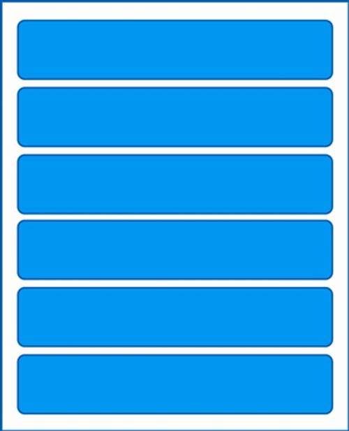 "LabelsAnywhere - 8"" x 1.5"" Folder Labels"