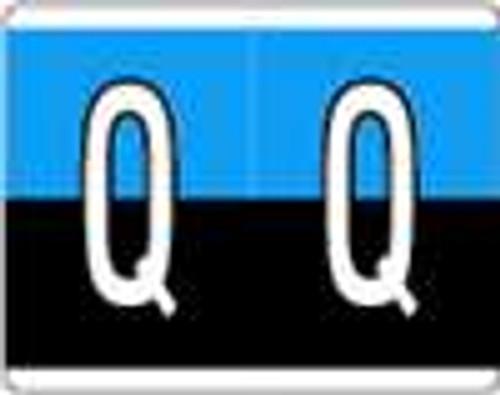Kardex Alphabetic Labels - PSF-139 Series (Rolls) Q