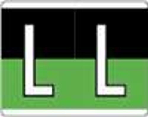 Kardex Alphabetic Labels - PSF-139 Series (Rolls) L