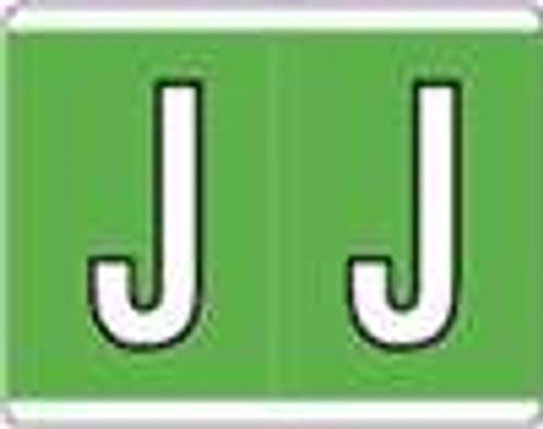 Kardex Alphabetic Labels - PSF-139 Series (Rolls) J