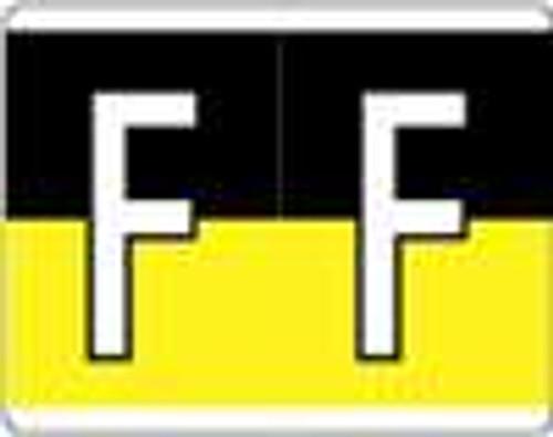Kardex Alphabetic Labels - PSF-139 Series (Rolls) F