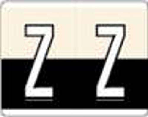 Kardex Alphabetic Labels - PSF-139 Series (Rolls) Z