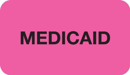 Medicaid Label; Box of 250