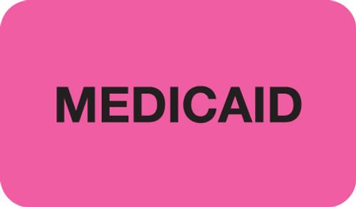 Medicaid Label; Box of 250