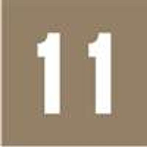 IFC Numeric Label - CL2100 Series (Rolls) - 1 - Gray
