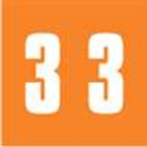 IFC Numeric Label - CL2100 Series (Rolls) - 3 - Orange