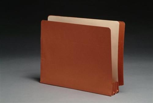 folder w/ Tyvek Gussets - Legal Size Accordion Expansion folder 9-1/2 x 12-1/2 x 1-3/4 - 50/Box