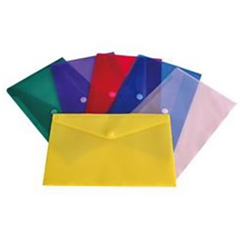"Velcro Flap Poly Envelopes - Legal - 15"" x 9-3/4"" - 7 Color Options"