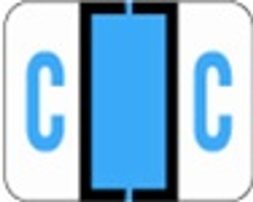 File Doctor Alphabetic Labels - FDAV Series (Rolls) C- Blue