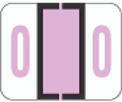File Doctor Numeric Label - FDNV Series (Rolls) - 0 - Lilac