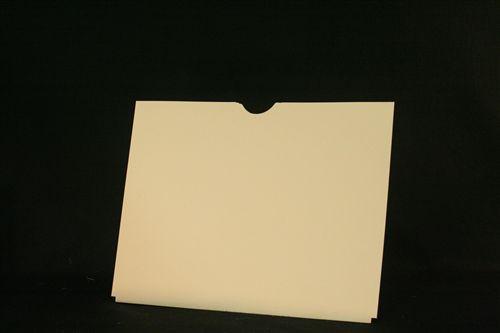 Medical Folder X-Ray Jacket- Plain Heavyweight Without Pocket.  11 pt. Manila Stock. 100 Jackets per Carton, Size 14 1/2 X 18 1/4
