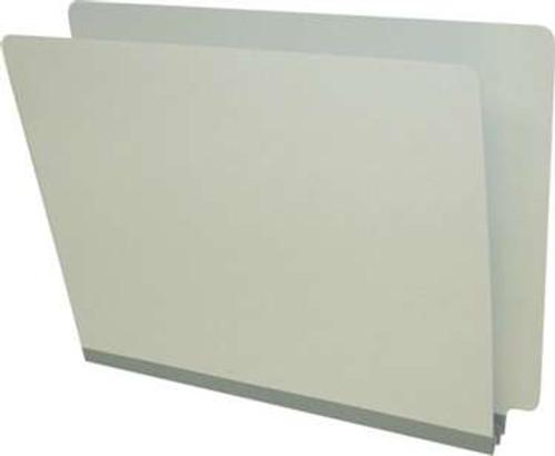 "End Tab Pressboard Folder - Tyvek 2"" Expansion - Letter Size - 25/Box - Pearl Green"