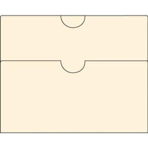 Manila Double Pocket - 11 pt - 8-1/2'' x 9'' - 100/Box