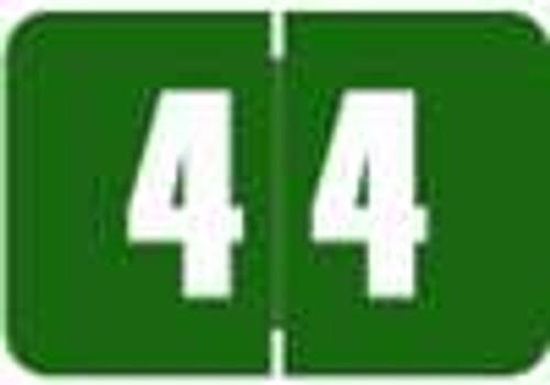 Digi Color Numeric Label - DCNM Series (Rolls) - 4 - Green